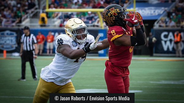 2019-12-28 - University of Notre Dame Fighting Irish v. Iowa State University Cyclones (Camping World Stadium Bowl)