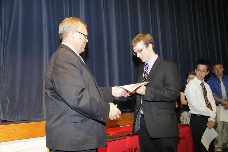 Awards Night 2012 -  Student of the Year: AP Chemistry