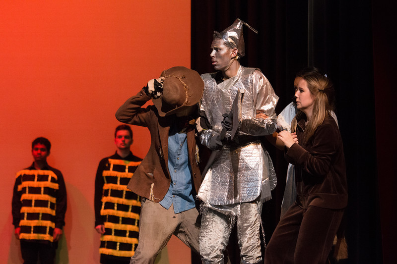 """Mean Ole Lion"" -- ""The Wiz"", Montgomery Blair High School spring musical, March 26, 2017"