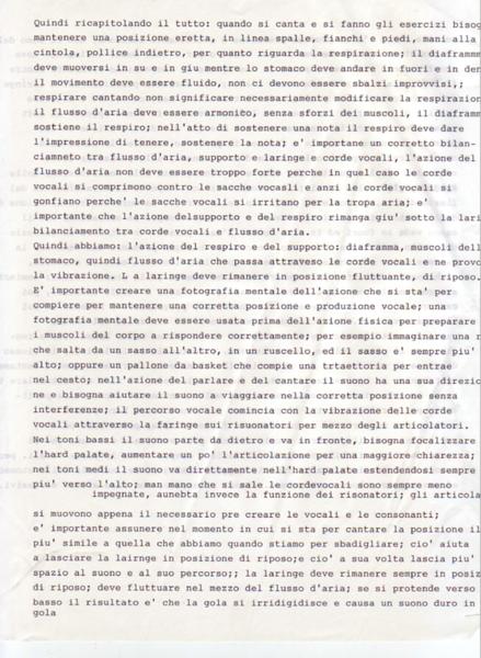 USA (1992-2012) Lettere, Momenti e Pensieri