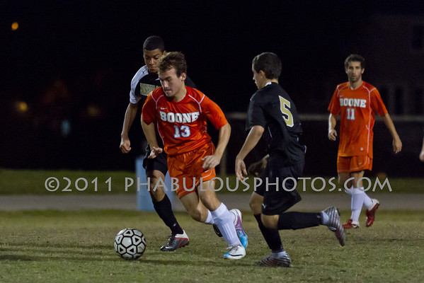 Bishop Moore @ Boone Boys JV Soccer - 2011