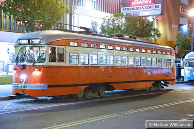 Street Cars - San Francisco