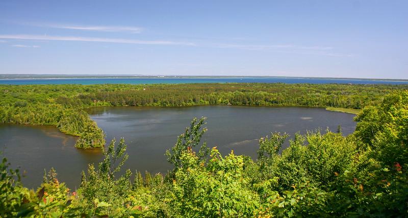 Monocle Lake-Mission Hill Trail  (4.0 miles; d=4.82)
