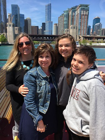 May 14 (Mother's Day With Grandma D in downtown Chicago, Navy Pier, Boat Ride)