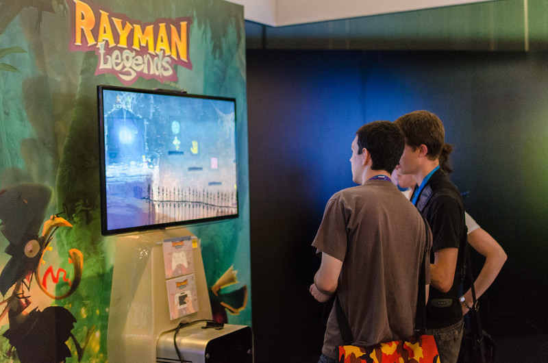 Rayman Legends @ Gamescom 2012