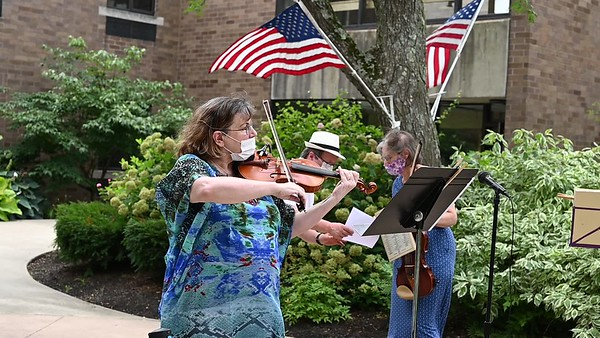 8.6.2020  VIDEO OF WSO  STRING PLAYERS  A E SETON HOME