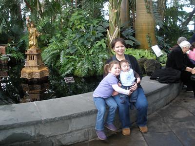 Holiday Train Show Botanical Gardens 2009