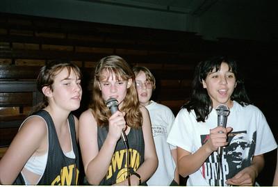 Marsha 8th grade Basketball Lockin Party