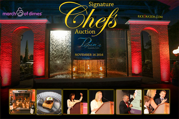 2016 March of Dimes Signature Chefs Auction