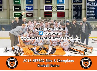 3/4/2018 - Boys Varsity Hockey - Elite 8 Finals - Salisbury vs Kimball Union