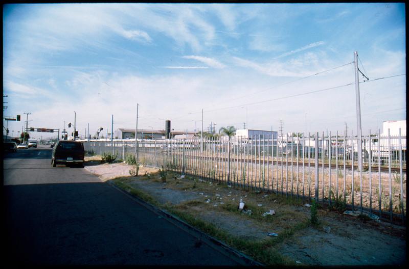Industrial buildings in East Washington Boulevard from Long Beach Avenue to Staunton Avenue, Los Angeles, 2003
