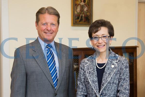 Denise Battles visit w/ Senator Pat Gallivan