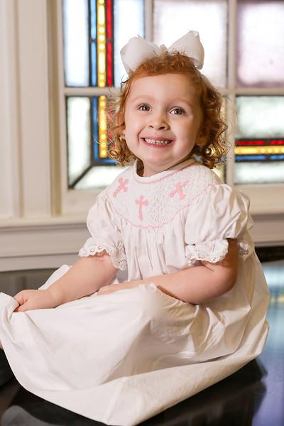 FUMC Baptism of Scarlett Zeigler 3-9-20