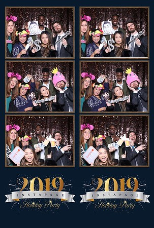 Instapage New Year Party