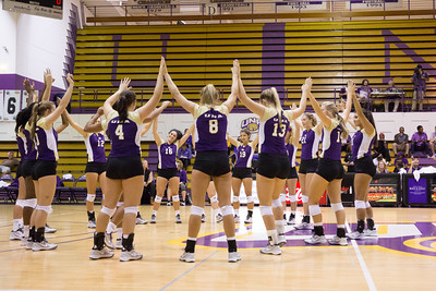 UNA Volleyball vs Martin Methodist 2016