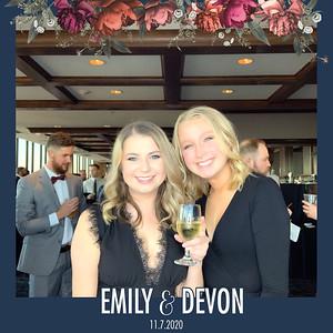 Emily + Devon Wedding