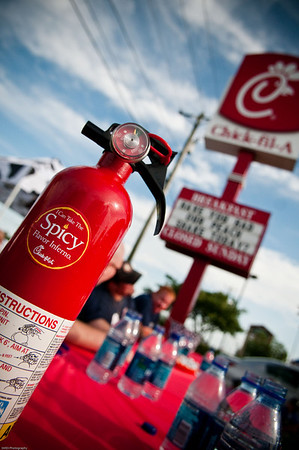Fire Fighters VS Spicy Chicken Sandwich from Chick-Fil-A