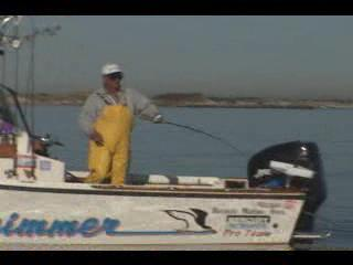 Fishing for Striped Bass with Live Bait