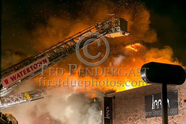 Watertown MA - 3 Alarms - 313 Main St