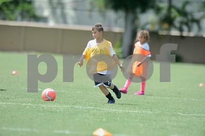 Simply Soccer Summer Camp week 9, 2019
