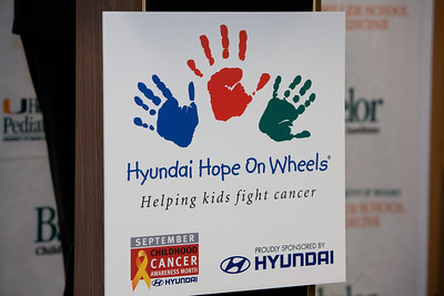 Hyundai Hope On Wheels, Helping Kids Fight Cancer - September 10, 2011