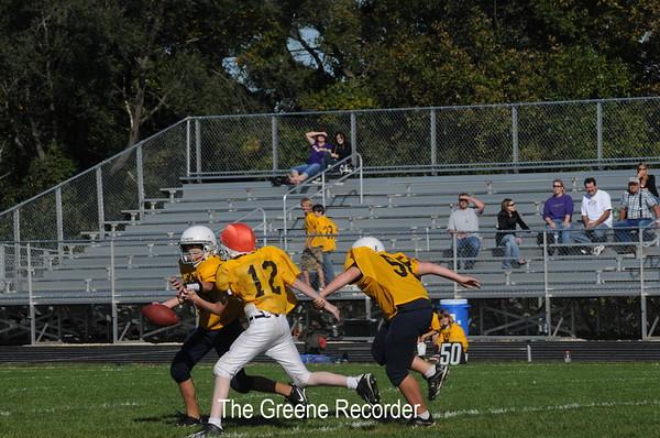 MS Football 7th grade at WSR