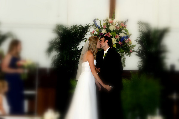 Celia Fortner and Chad Potts Wedding