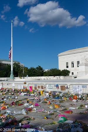 2020-09-20 RBG Supreme Court tribute