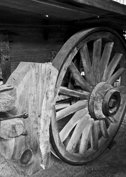 Wadon Wheel, Laws Museum
