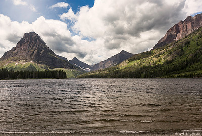 Two Medicine Lake, Paradise Point, Aster Falls