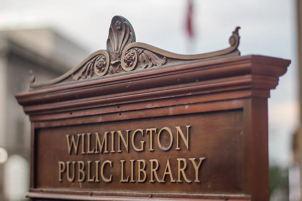 Wilmington Library With Cerron Cade