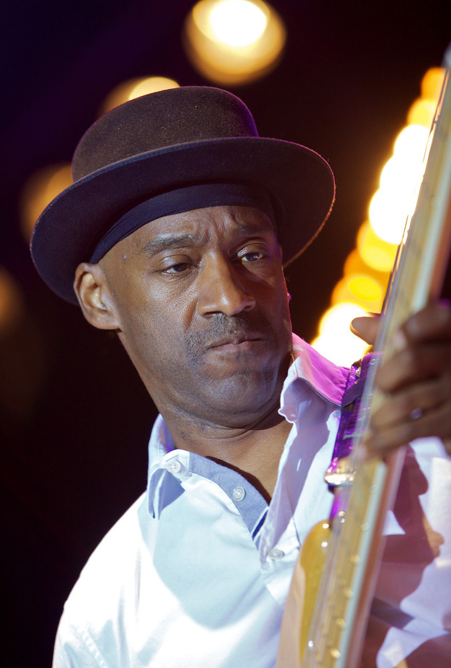 Marcus Miller at Jazz à Juan 2010 6<br /> Marcus Miller and the Philharmonic Orchestra of Monte-Carlo  in concert at Jazz à Juan 2010