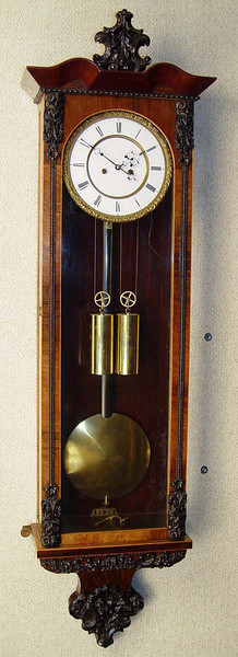 VR-366 - Late Biedermeier 2 weight Vienna Regulator