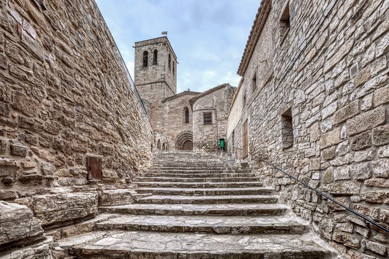 Guimerà, Old Stone Staircase (Catalonia)