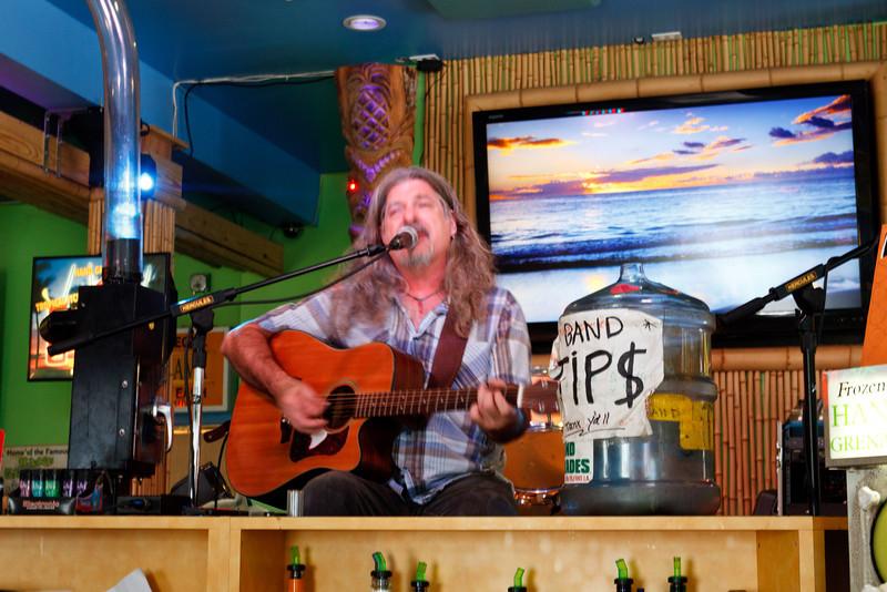 Mark Penton at the Tropical Isle