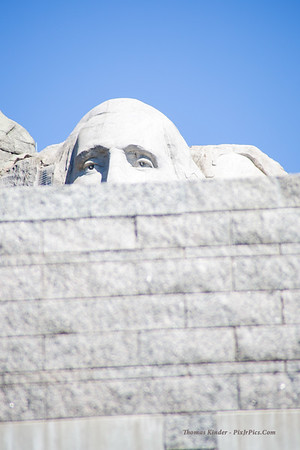 Mount Rushmore, South Dakota, July 2014