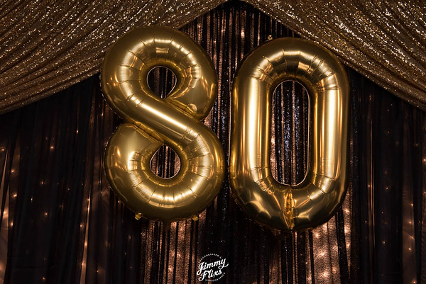 Mr. Jackson 80th  Birthday Party