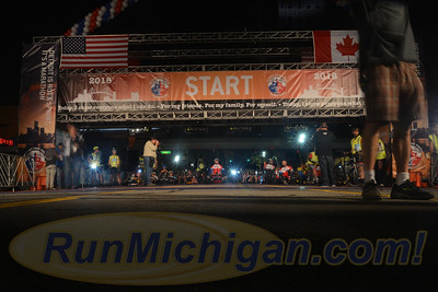 Starting Line, Gallery 2 - 2016 Detroit Marathon