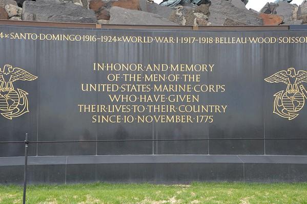 Iwo Jima Memorial April