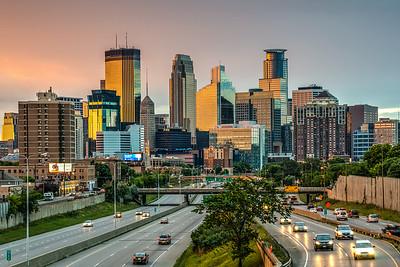 Minneapolis Skyline 35W
