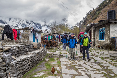 Nepal Annapurna circuit Feb-Mar 2015