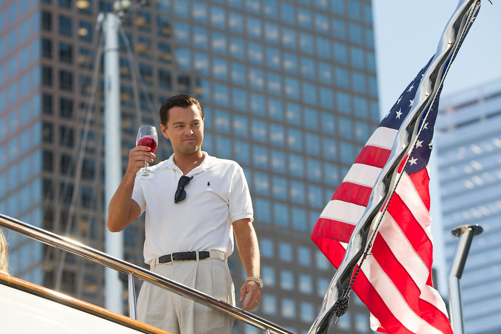 ". 2014 Academy Award Nominee for Best Picture: ""The Wolf of Wall Street.\"" (AP Photo/Paramount Pictures, Mary Cybulski)"