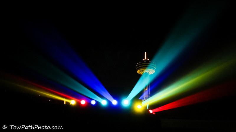 Niagara Falls Lighting