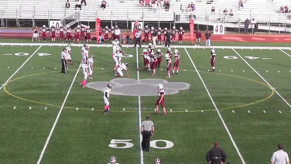 Video of MRHS Freshmen vs Red Bank Regional 10192012