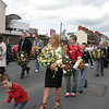 wreath bearers parade along patrick street
