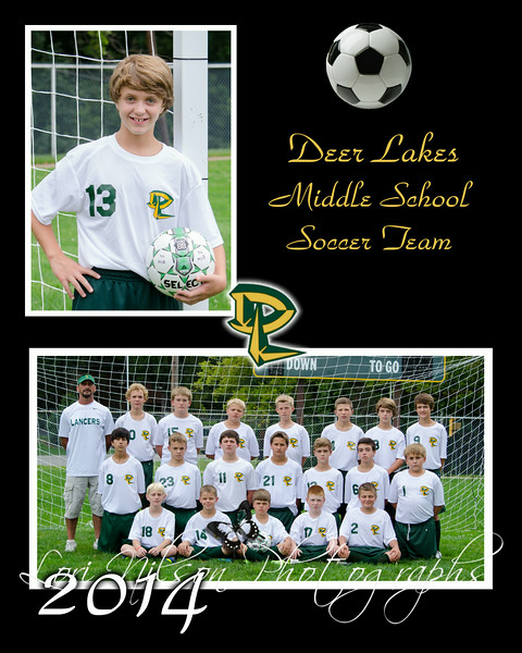 2014 D.L. Middle School Soccer