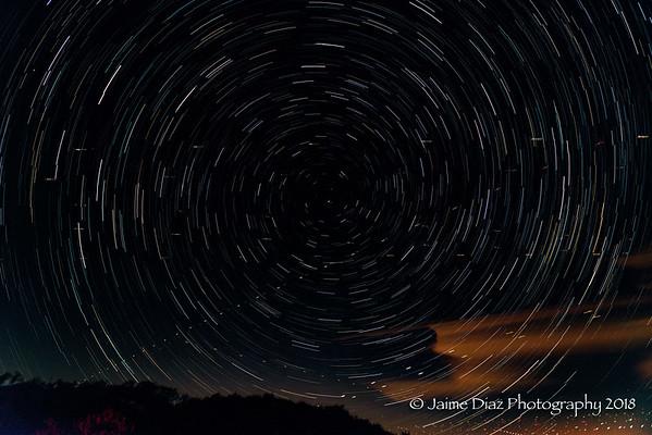 Night Photography at Ortega Hwy - 6/9/2018