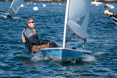 Laser Regatta off Marblehead November 3, 2019