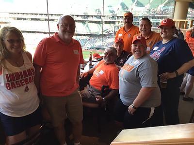 Cleveland Alumni Night at Indians Game 8/2/16