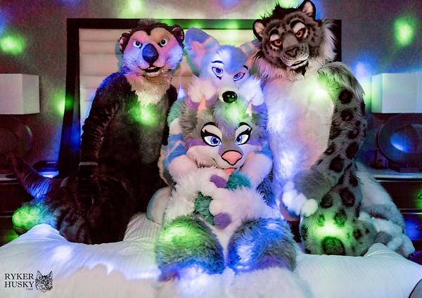 Aurora, Takoda, and Jase Photoshoot